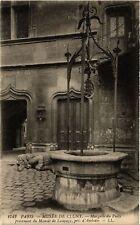 CPA PARIS (5e) Musee de Cluny. Margelle du Puits (535279)