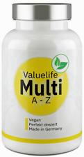 Valuelife Multivitamin Kapseln A-Z - 24 Vitamine, Mineralstoffe & Spurenelemente