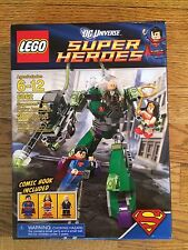 LEGO 6862 Superman vs Power Armor Lex New in Box DC Universe Super Heroes series