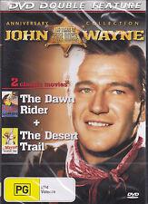 JOHN WAYNE THE DAWN RIDER/ THE DESERT TRAIL WESTERN DVD