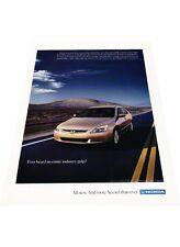 2004 Honda Accord -  Original Vintage Advertisement Print Car Ad J428