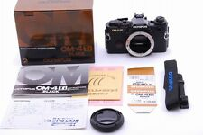 [Near Mint!] Olympus OM-4Ti 35mm SLR Film Camera Black Body In Box Japan #07023