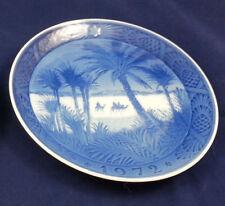 """1972 """"In the Desert"""" Royal Copenhagen Christmas Plate 7.25 inch - Kai Lange"""