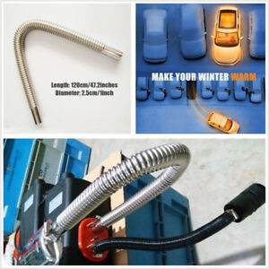 Professional 120cm Car Truck Exhaust Pipe OD 1inch For Air Diesel Parking Heater