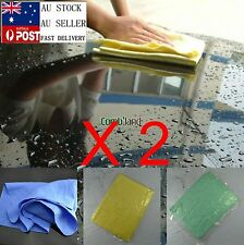 2 PCS PVA Chamois Car Glass Wash Cloth Leather Dry Specialty Cleaning Towel