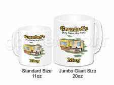 Personalised Gift Camper Van Jumbo Mug Motorhome Caravan Holiday Novelty Present