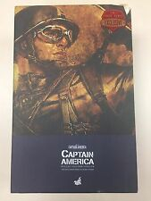 Hot Toys MMS 180 Captain America (Rescue Uniform Version) Chris Evans Steve USED