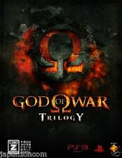 Used ps3 god of war trilogy sony playstation 3 japan japanese import