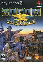 SOCOM: U.S. Navy SEALs - 2002 Shooter - (Mature) - Sony PlayStation 2 PS2