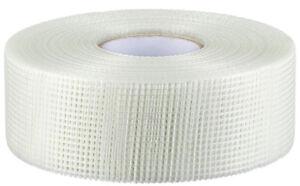 Profi Gitterband Fugenband Glasfaser Band Gewebeband  selbstklebend 90m x 48mm