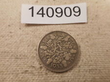 1933 Great Britain Six Pence - Nice Collector Raw Album Grade Coin - # 140909