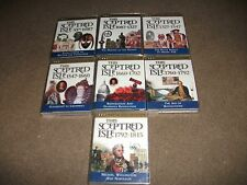 AUDIO TALKING  TAPES-THIS SCEPTRED ISLE-SERIES OF 7 TAPES -VGC-FROM 55BC TO 1815