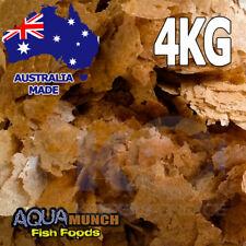 AM Aquarium Brine (Artemia) Shrimp Fish Food Flakes GRAIN FREE Flake Feed 4KG