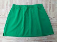 """Adult Girl Scout Kelly Green Cheerleader Uniform Skirt 32-36"""" Cosplay Anime New"""