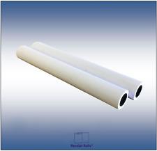 2 Rolls 42 X 300 20 Bond Inkjet Plotter Paper Rolls For Hp Designjet 2 Core