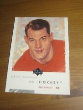 2002 03 UD Artistic Impressions # 36 Gordie Mr. Hockey Howe - Detroit Red Wings