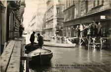 CPA PARIS Rue de Bellechasse. LA GRANDE CRUE DE LA SEINE 1910 (a4430)