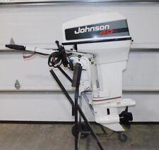 40 hp JOHNSON TILLER Outboard boat motor - ELECTRIC START - HYDRAULIC TILT 40hp