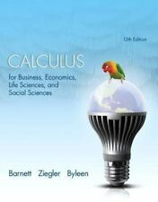 Calculus for Business, Economics, Life Sciences, and Social Sciences by Karl E.
