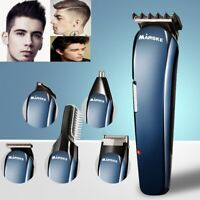 Hair Trimmer Beard Mustache Clippers Nose Ear Electric Razor Shaver Grooming Kit