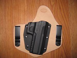 IWB Kydex/Leather Hybrid Holster for Sig Sauer