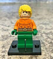Genuine LEGO Super Heroes Minifigure - Aquaman - Complete - sh050