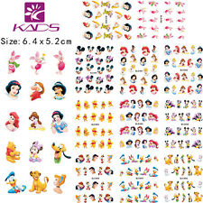 11 Sheets/Lot Princess Cartoon Nail Art Sticker Water Transfer Decal Ble488-498