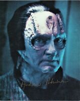 Andrew Robinson As Garak Star Trek DS9 Autographed 8 1/2 x 11 in. Photo