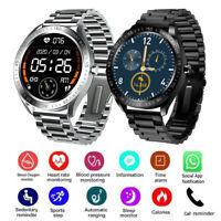 2020 Smartwatch Pulsuhr Sport Armband Uhr Remote-Kamera für iOS Android Samsung