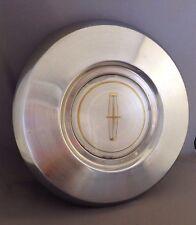 "1982-1987 Lincoln MARK 7 VII CONTINENTAL 15"" Wheel Hub Metal Silver Center Cap"