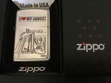 Sweet Retired 2010 Iconic I Love My Truck Truckers Zippo Lighter