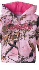 Cabelas Infant Jacket 0 3 M Camo Hooded Sweatshirt Top Infant Pink Woods so cute