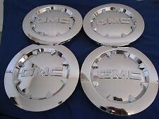 "4pcs. 2007-2012  GMC SIERRA 1500 YUKON XL DENALI Chrome Center Cap 20"" BRAND NEW"