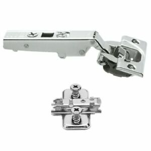 Pack Of 4 Blum 110 Degree Blumotion Soft Close Hinge 71B3550 With Clip 173l8100