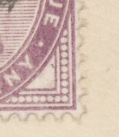 "2455 ""CHELMSFORD"" Squared Circle Postmark (Cohen Typ 1st I CT) 1 D lilac VARIETY"