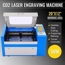 50W CO2 Laser Engraving Cutting Machine Engraver Cutter Trocen DSP 300 x 500mm