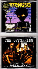 The OFFSPRING lotto 2 cd singoli MILLIONS MILES AWAY, DEFY YOU Green Day Rancid