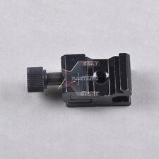 "Adjustable Camera Flash Hot Shoe Mount Adapter w 1/4"" Female Thread/ Screw Hole"