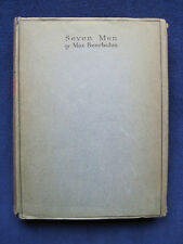 MAX BEERBOHM Seven Men - Profiles of Enoch Soames, Hilary Maltby & Others
