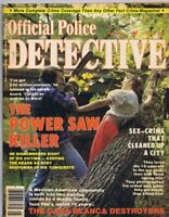 ORIGINAL Vintage May 1981 Official Police Detective Magazine GGA