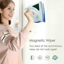 Window Magnetic Double Sided Glass Wipe Cleaner Cleaning Home Kit Brush B2K4