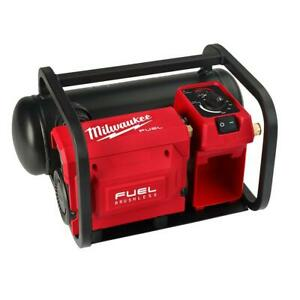 Milwaukee Electric Air Compressor 18-Volt Lithium Ion Quiet Horizontal Tank