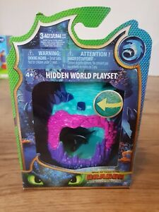 How To Train Your Dragon: Hidden World - Playset With Toothless Figure - NEW