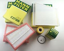 MANN-FILTER SET ÖLFILTER POLLENFILTE LUFTFILTER W211 S211 280 CDI 320 CDI
