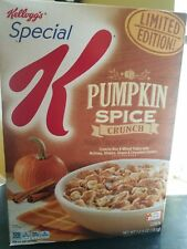 Kellogg's Special K Pumpkin Spice Crunch LIMITED EDITION cereal