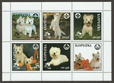West Highland White Terrier *Int'l Dog Stamp Art Collection*Unique Westie Gift*