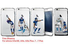 OBJ Odell Beckham Jr. Giants Silicone Phone Case For Iphone X 8/7/6s Plus
