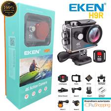 EKEN® H9R SPORT ACTION PRO CAM ULTRA HD 4K WIFI VIDEOCAMERA SUBACQUEA ORIGINALE