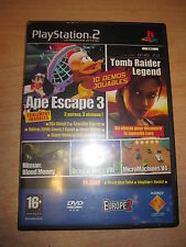 PLAYSTATION 2 DVD JEUX 10 DEMOS JOUABLES N° 73 DRAGON QUEST VIII APE EXCAPE 3...