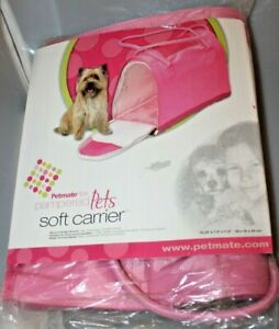 Petmate Soft Pet Carrier - Chihuahuas, Yorkshire Terriers, Cats - 2-Door Access